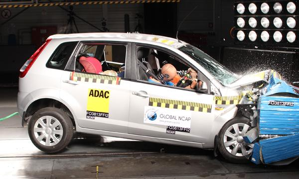 Ford Figo was the only car which passed the NCAP crash test without airbags