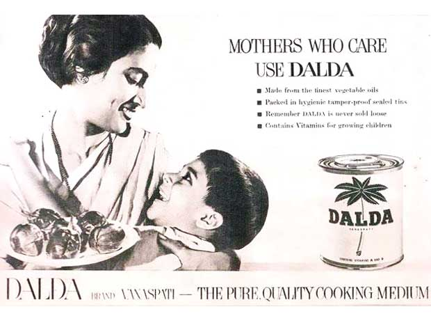Dalda displaying mother's love and care for her child