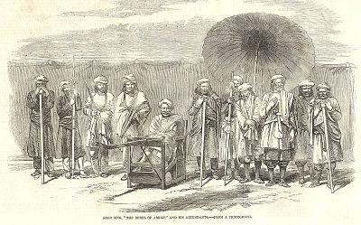 rebels of arrah 1857