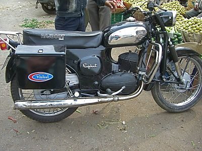 Rajdoot Excel T bike which was the largest selling product line from the brand