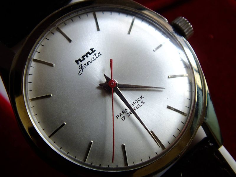 HMT janata watch, one of the largest selling product line under the brand HMT