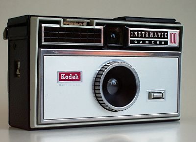 Earlier version of Kodak camera
