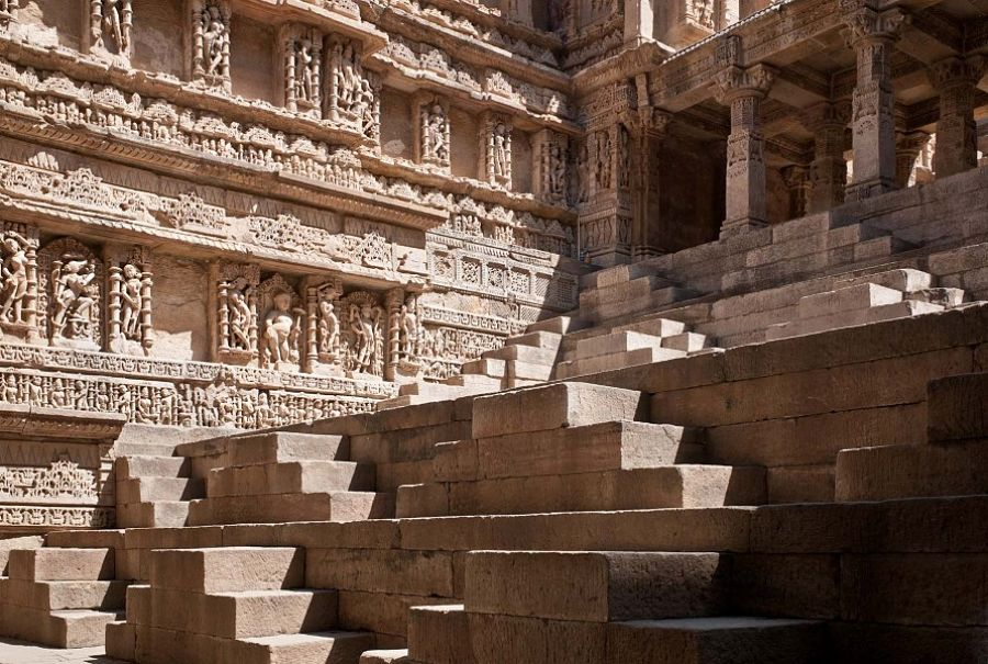 Rani Ki vav heritage site in Gujarat which is also regarded as a water temple