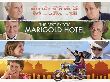 Poster of the best exotic marigold hotel movie