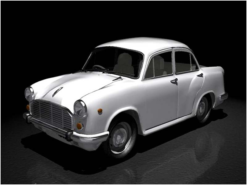 Ambassador whose production has been stopped by Hindustan Motors