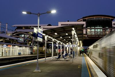 LED lights being installed at major Railway stations