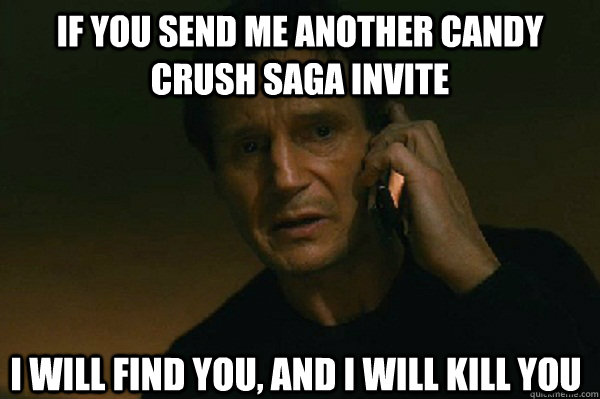 Meme on Candy Crush requests