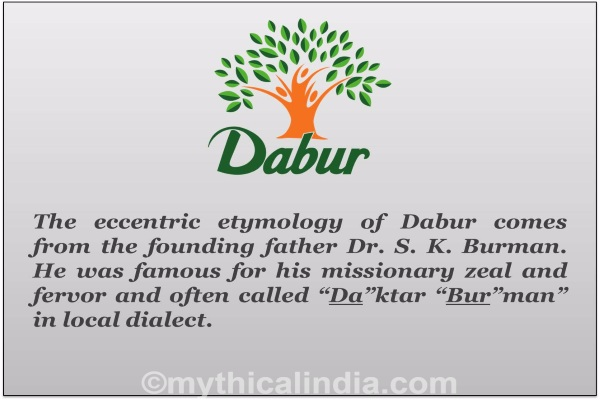 Story of origin of Dabur Brand name