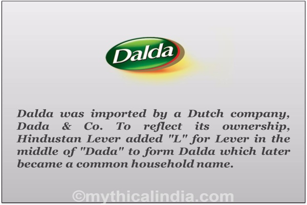 Story of origin of Dalda Brand name