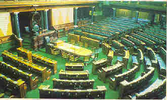 Inside of the Parliament