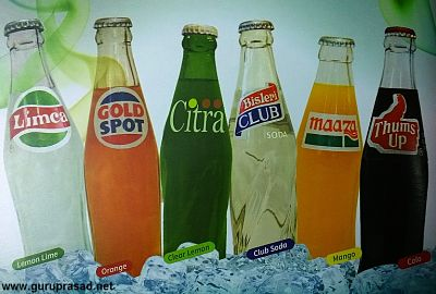 Parle's soft drink portfolio during 80s