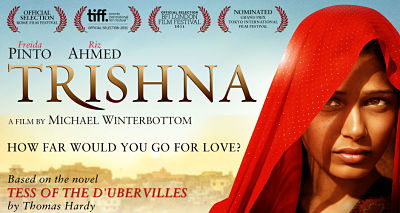 Poster of Trishna movie with freida Pinto