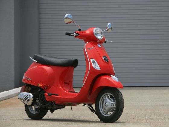 Piaggio Vespa's scooters with striking designs
