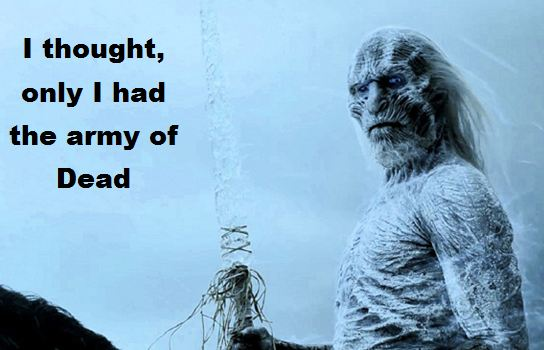 White Walkers trolled