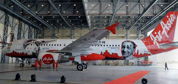 Air Asia paying tribute to JRD Tata - Mythical India