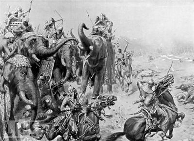 Armies at Battle of Panipat