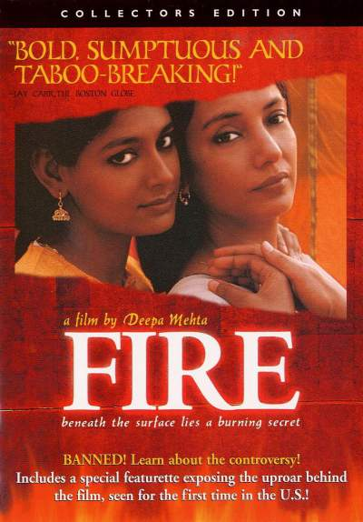 Fire movie by Deepa Mehta faced heat in India-Shiv Sen protests