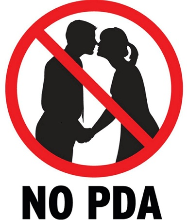 No public display of affections - Mythicalindia