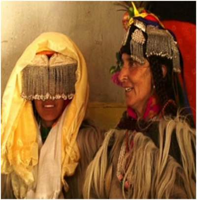 Traditional Drokpa marriage happens within their society - Mythicalindia