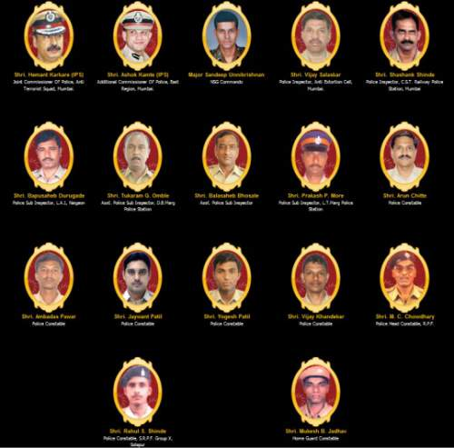 heroes of 26/11 mumbai attack - Mythicalindia