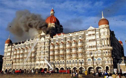 Hotel Taj mahal palace Mumbai after Terror attacks - Mythicalindia