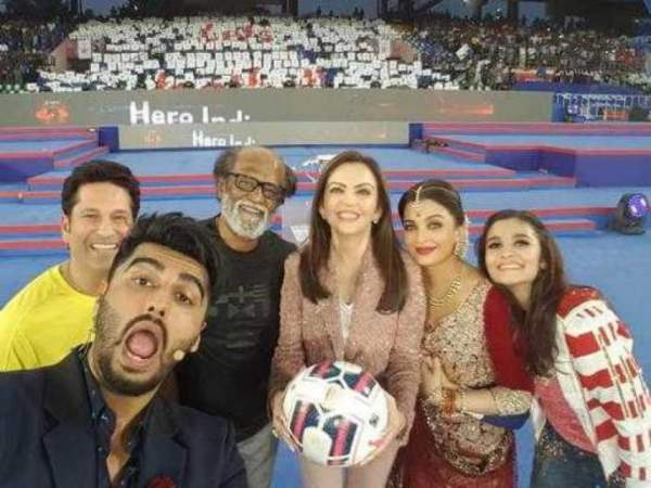 Celebrities have supported ISL and helped in attracting viewers