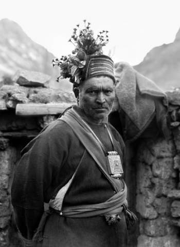 A drokpa male with traditional dress-Mythicalindia