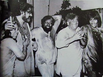 sitara devi with Raj Kapoor and Amitabh Bachchan_mythicaldindia