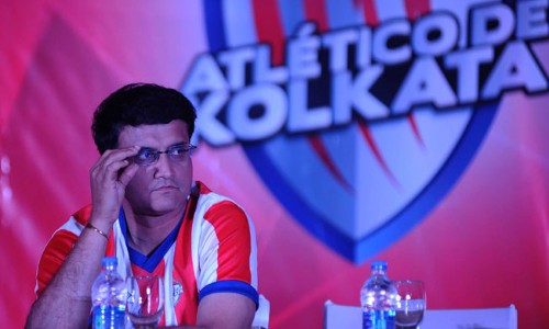 Sourav ganguly-promoter of Atletico de Kolkata announces training with Atletico Madrid