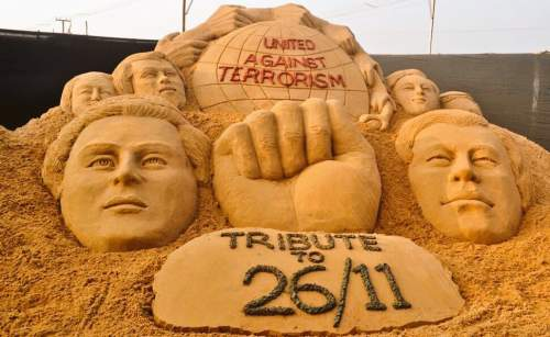 An artist's tribute to the people died in 26/11 attacks - Mythicalindia