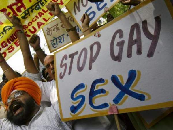Followers of Akal Takht protesting against gay sex - Mythical India