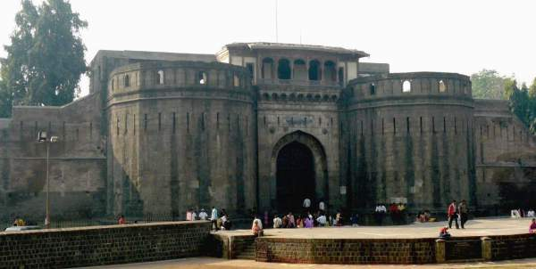 Palace at shaniwar Wada, Pune - Mythical India