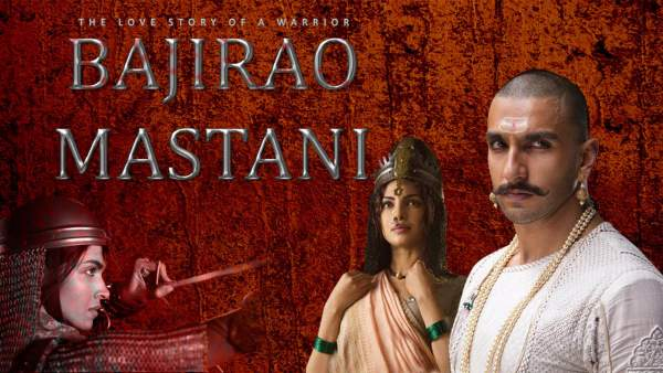 The poster of Bajirao Mastani movie - Mythical India