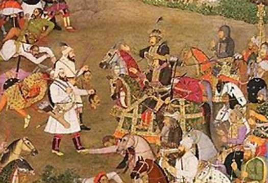 King Chhatrasaal fighting the Mughal Generals - Mythical India