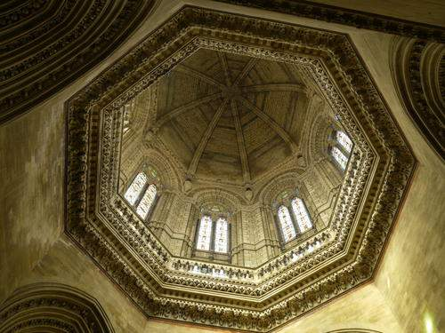Ornamented dome at Star chamber - Mythical India