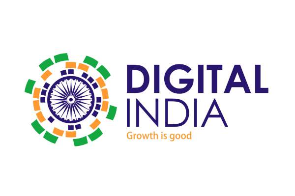 Digital India poster - Mythical India