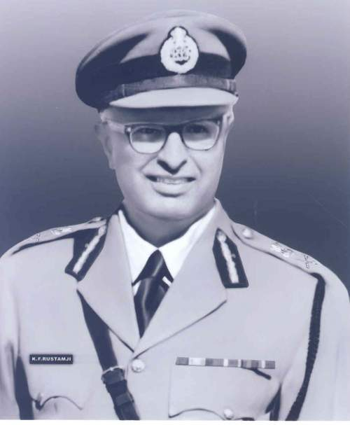 K F Rustomji - First chief of BSF - Mythical India