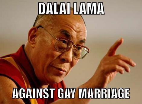 Dalai Lama termed homosexuality as sexual misconduct - Mythical India