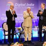Modi sharing stage with CEO's of top IT firms on Digital India - Mythical India