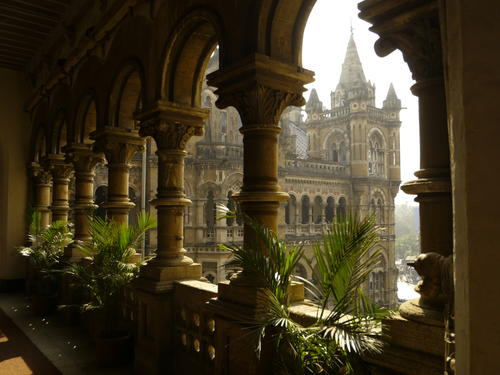 Architectural beauty of CST which resembles ancient Indian palace - Mythical India
