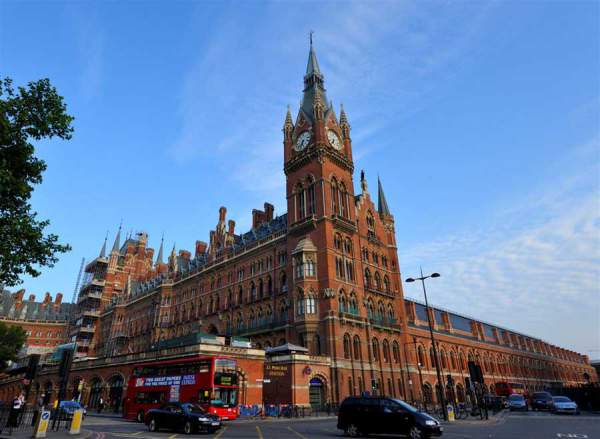 St. Pancras Station London - Mythical India