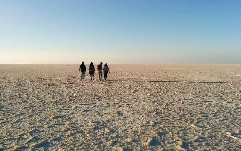 The white desert or Rann of Kutch - Mythical India