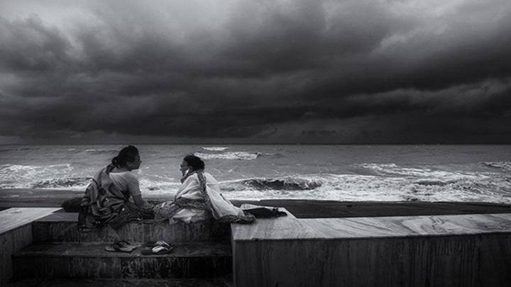 Madhebendu Hensh who captured this image during Monsoon at Digha Beach - Mythical India