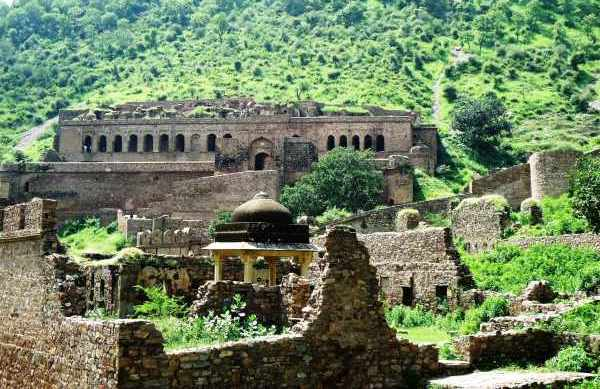 The central fort of Bhangarh - Mythical India
