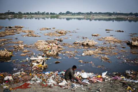The misery of Yamuna - Mythical India