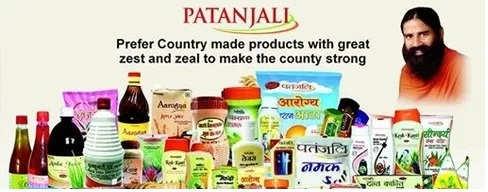 Product lines offered by Patanjali - Mythical India