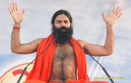 Ramdev at a Yoga Session - Mythical India