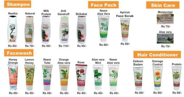 Price list of Patanjali herbal products - Mythical India
