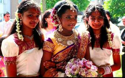 'manjal-neer-attu-vizha', 'puniya-tharam' and 'sa thunga'. Tamil rituals for onset for puberty of women