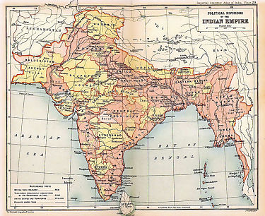 Mizoram and Arunachal Pradesh becomes the 23rd and 24th states of Indian Union on 20th February. Shown here, a British map published in 1909 showing the Indo-Tibetan traditional border